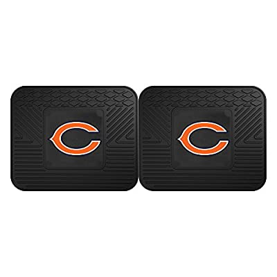 FANMATS 12303 NFL - Chicago Bears Utility Mat - 2 Piece