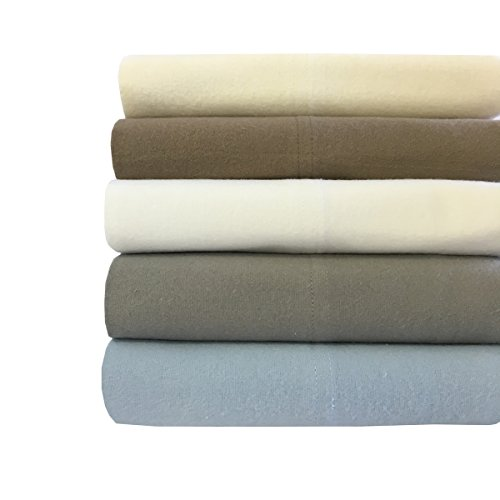 Royalu0027s Heavy Soft 100% Cotton Flannel Sheets, 4pc Bed Sheet Set, Deep  Pocket, Thick, Heavy And Ultra Soft Cotton Flannel
