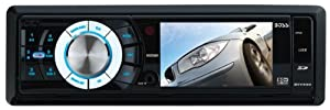 Boss BV7330 Car DVD Player - 3.2' LCD Display - 320 W RMS - iPod/iPhone Compatible - In-dash - Single DIN. SINGLE DIN MULTIMEDIA RECEIVER 3.2IN USB/SD FRONT AUX DROPDOWN AMREC. DVD Video, MPEG-4, Video CD, SVCD, SDVD - AM, FM - Secure Digital (SD) - Auxiliary Input