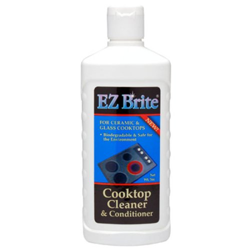 EZ Brite Glass & Ceramic Cooktop Cleaner & Conditioner 7 oz Gel
