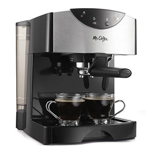 Mr. Coffee Automatic Dual Shot Espresso/Cappuccino System, ECMP50 by Mr. Coffee (Mr Coffee 40 Oz compare prices)