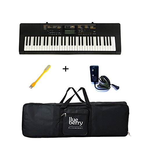 casio ctk 2400 electronic keyboard 61 keys black available at amazon for. Black Bedroom Furniture Sets. Home Design Ideas