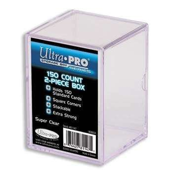 Ultra Pro 150-Count 2-Piece Plastic Box