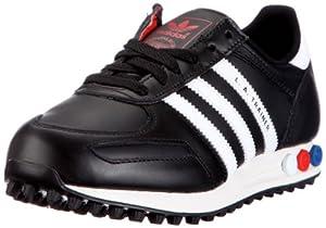 adidas Originals LA TRAINER M V22816, Herren Sneaker, Schwarz (BLACK1/WHT/L), EU 42 2/3 (UK 8.5)