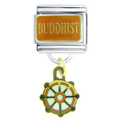 Dharma Wheel Bracelet Buddhist Charms