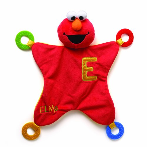 Gund Baby Sesame Street Activity Blanket, Elmo (Discontinued by Manufacturer)