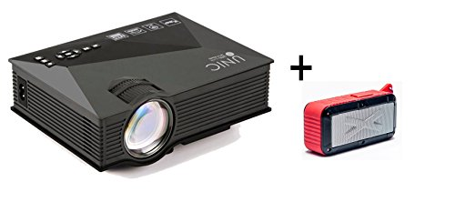 Unic uc46 1200 lumens portable multimedia hd mini led for Bluetooth micro projector