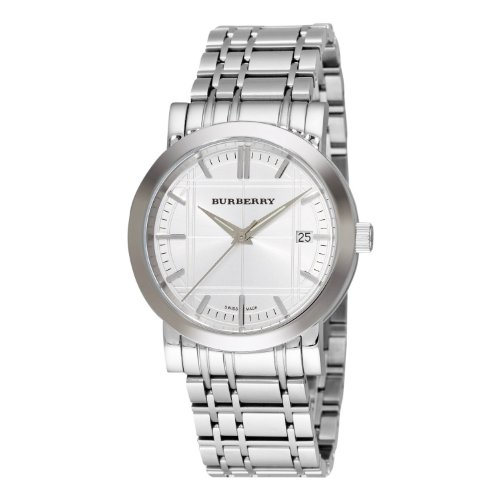 【バーバリー】BURBERRY BU1350 メンズ 腕時計 文字盤シルバー [並行輸入品]