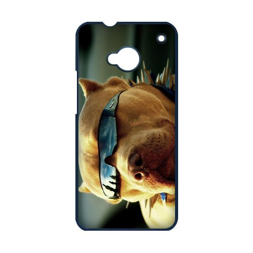 Generic Cell Phones Cover For Htc One M7 Case Cute Dog Portrait Dogs Little Brown Dachshund Greedy Pug Shiba Inu Poodle White Labrador Chihuahua Dog Puppy - Protective Designer Custom Made Hard Snap On Phone Cases front-963962