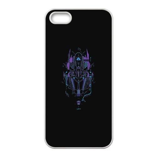 iPhone 5 5s Cell Phone Case White ac16 transformer logo two art illust VJT_875851