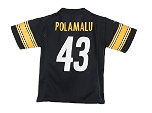 Nike NFL Pittsburgh Steelers Troy Polamalu Infant
