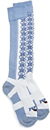 Hot Chillys Womens Snowflake Med Sock