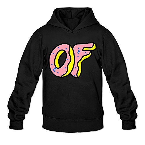 RABBEAT Men's Hoodies Odd Future Logo Size M Black (Marvel Quest O compare prices)
