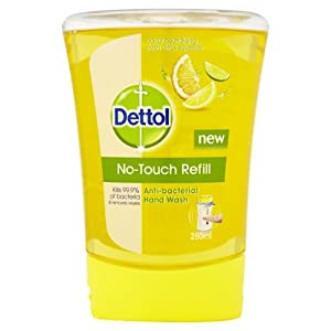 Dettol No-Touch Refill Hand Wash - 250 ml, Fresh Citrus Squeeze