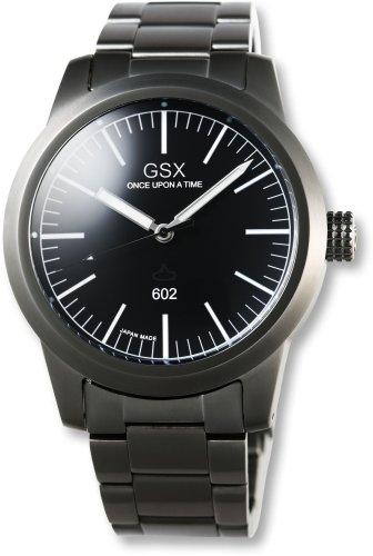 GSX (ジーエスエックス) 腕時計 AUTOMATIC オートマチック GSX602GBK メンズ