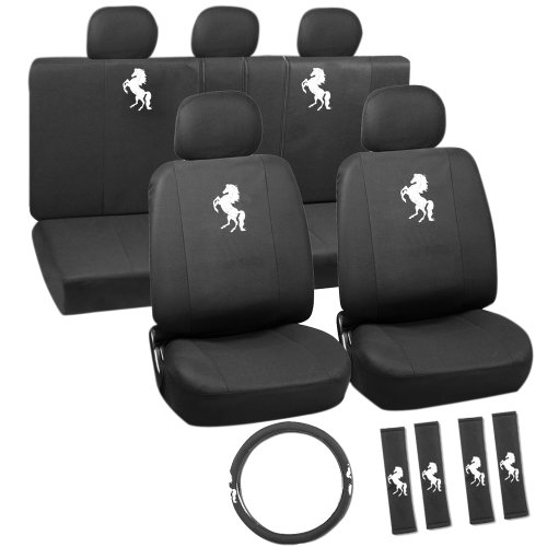 OxGord SCFE-H02A-00 Seat Cover (Seat Covers Horses compare prices)