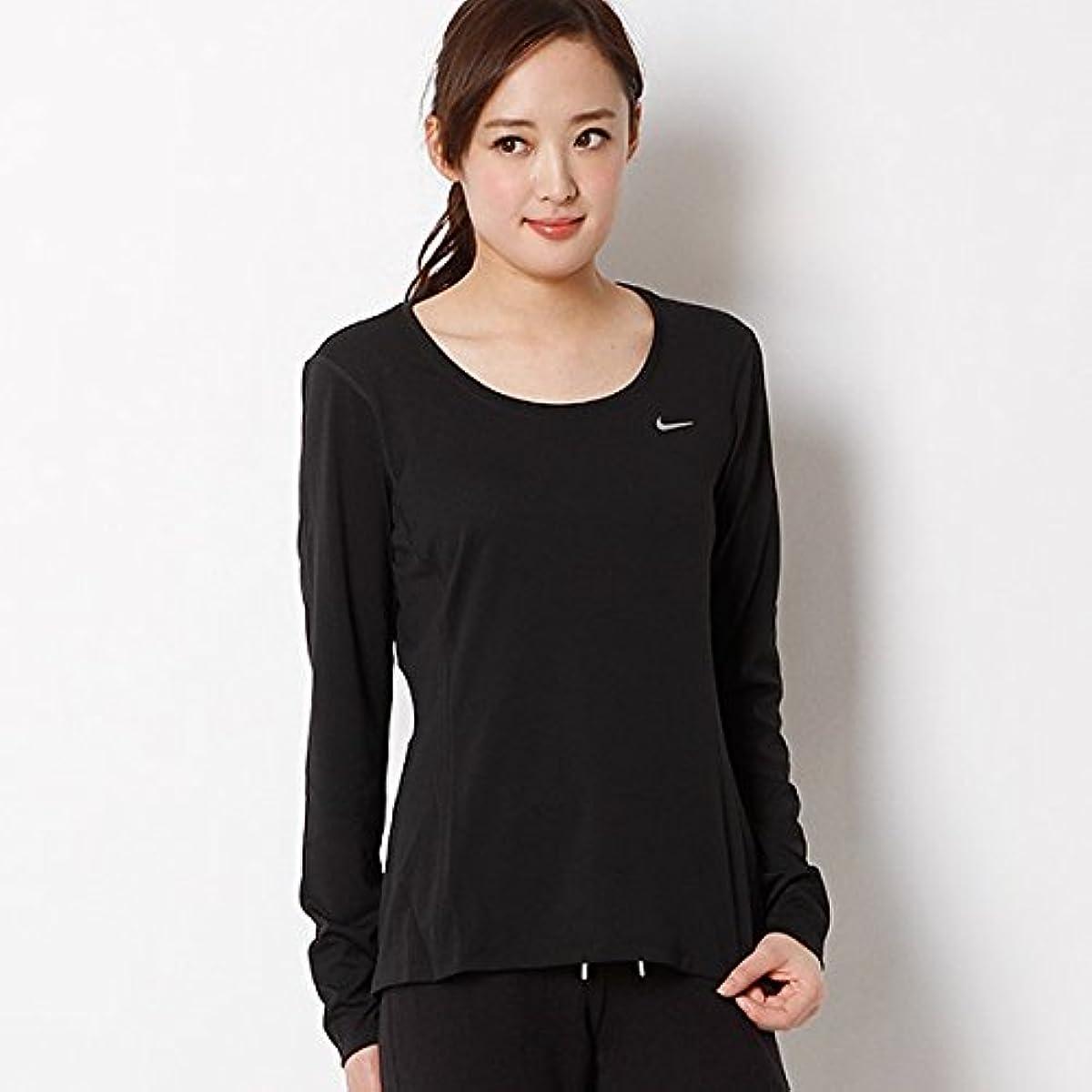 [해외] 나이키(nike 나이키) 【NIKE/나이키】T셔츠(나이키 women's DRI-FIT contour― L/S 톱)