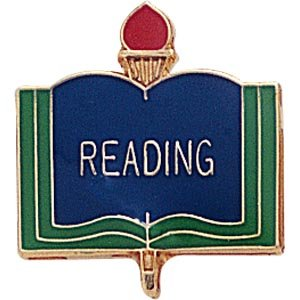 Reading Lapel Pins (10-Pack)