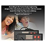 Classic Game Consoles Mini Retro Game Consoles Built-in 620 Games Video Games Handheld Game Player AV Output 8-Bit Bring You Happy Childhood Memories by Abby (Color: Red)