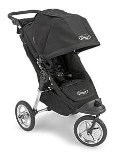Baby Jogger City Elite Single Stroller - Black/Black