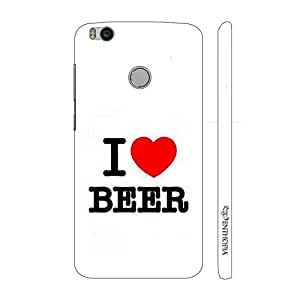 Enthopia Designer Hardshell Case No Fear For Beer Back Cover for Xiaomi Mi 4s