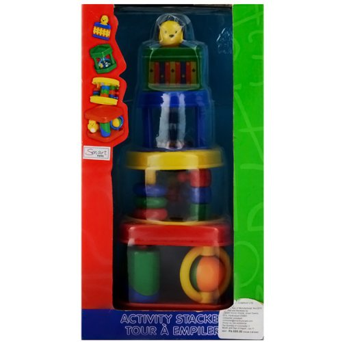 Megcos Multi-Action Stacker Set -Affordable Gift for your Little One Item LMID-1166B001D6WF4E