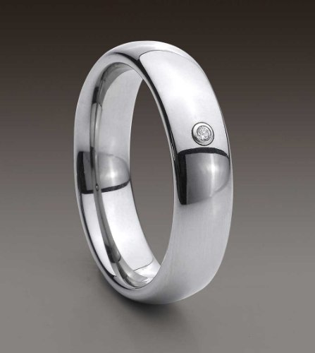 WOMANS LADIES TUNGSTEN WEDDING ENGAGEMENT RING