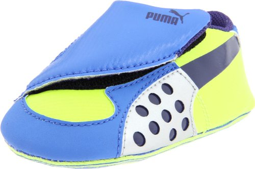 Faas 300 Crib Running Shoe (Infant/Toddler),Palace Blue/Navy Blue/ Silver,2 M US Infant