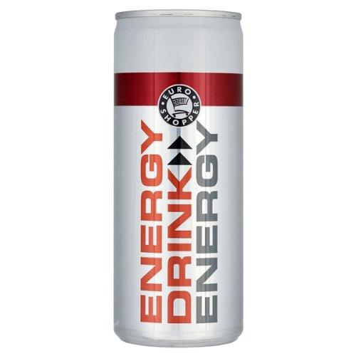 Euro Shopper Energy Drink 250ml - Pack of 24