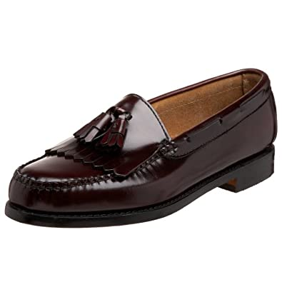 Bass Men's Layton Kiltie Tassel Loafer,Burgundy,6.5 D US