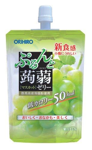 オリヒロ ぷるんと蒟蒻ゼリーSTマスカット 130