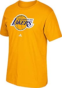NBA Los Angeles Lakers Men's Full Primary Logo Tee, Large, Gold