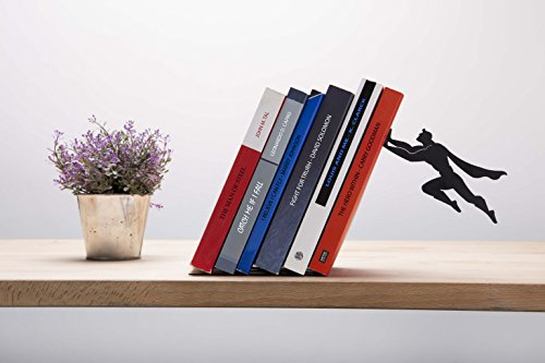 """Book & Hero"" Metal Bookend - AD101 - Artori Design"