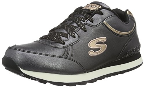 Skechers (SKEES) - Equalizer- Game Point, Scarpa Tecnica da uomo, nero (bkw), 38