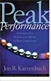 cover of Peak Performance