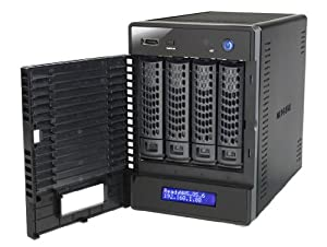 NETGEAR RN10442D-100EUS ReadyNAS 104 4 Bay Network Attached Storage - 4 x 2 TB
