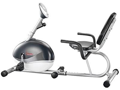 Sunny Health Fitness Magnetic Recumbent Bike from Sunny Health & Fitness
