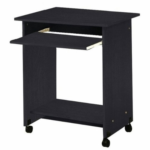 Buy Low Price Comfortable Black Mobile Compact Computer Cart (Black) (29″H x 26″W x 19″D) (B003S9Z3ZC)