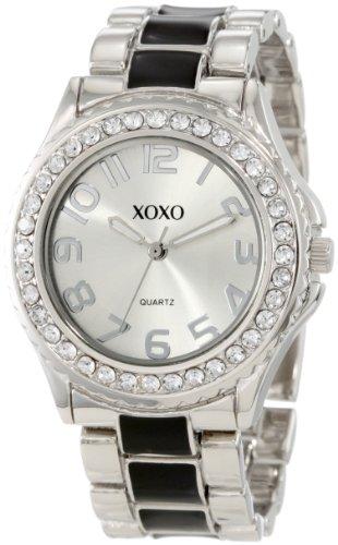 XOXO XO5405 Silver tone Bracelet Rhinestones