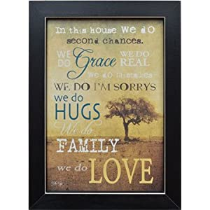 Framed Print - Primitive Country Rustic Inspirational Quote Wall Art Decor