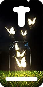 Go Hooked Designer Soft Back cover for Asus Zenfone 2 Laser ZE550KL