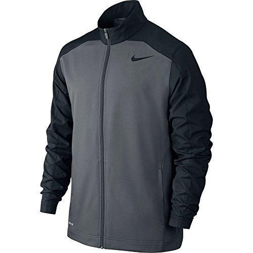 New Nike Men's Team Woven Training Jacket Cool Grey/Black/Black/Black X-Large