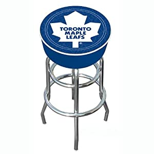 Nhl Toronto Maple Leafs Padded Bar Stool Amazon Ca