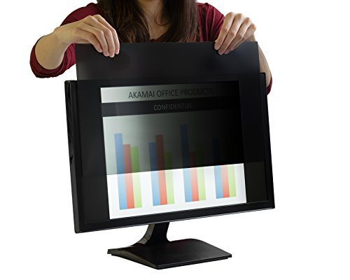 22.0 Inch (Diagonally Measured) Privacy Screen for Widescreen Computer Monitors