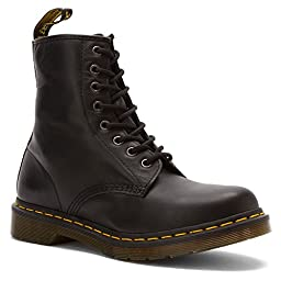 Dr. Martens Women\'s 1460 W Boot,Black Nappa,4 UK/6 M US