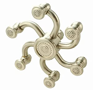 Octopus Shower Head - Brushed Nickel Finish