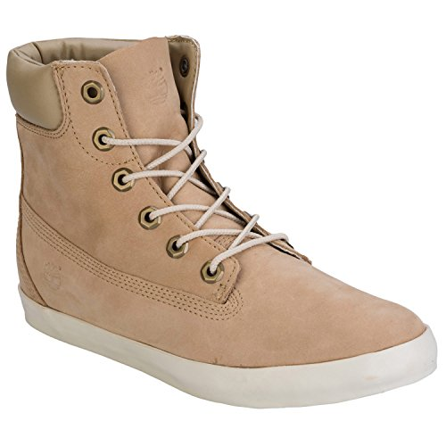 Timberland Women's EK Glastenbury 6 Inch Boot, Cornstalk Nubuck, 9 M US (Customized Timberland Boots compare prices)