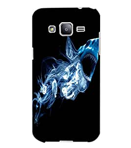 SAMSUNG GALAXY J2 WHALE Back Cover by PRINTSWAG