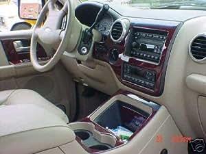 Ford Expedition Interior Wood Dash Trim Kit Set 2003 2004 2005 2006 Automotive