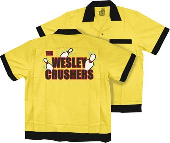 Big Bang Theory The Wesley Crushers Bowling Shirt